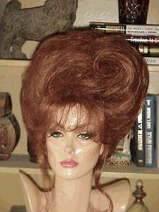 WIG WIGS EMPRESS BIANCA DRAG QUEEN auburn french twist updo