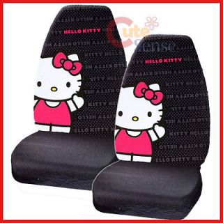 Hello Kitty Car Seat Cover Auto Accessory 2PC Front Seat covers CORE