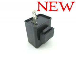 12V 2 Pin Turn Signal Flasher Relay For Motorcycle Dirt Bike LED