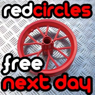 RED FRONT OR REAR MINI DIRT BIKE WHEEL TYRE SIZE 12.5 x 2.75 8 INCH