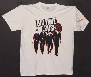 UNWORN UNWASHED 2011 BTR BIG TIME RUSH TOUR T SHIRT SIZE ADULT LARGE