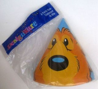Bear Big Blue House Party Supplies HATS Birthday Zoo Yellow Decoration