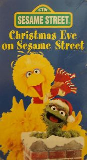 GROUCH / BIG BIRD CHRISTMAS EVE ON SESAME STREET BIG BLUE MIRACLE