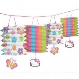 Hello Kitty Birthday Paper Lantern Garland 12ft Party Decorations NEW