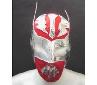 SIN CARA MEXICAN NEW RED WRESTLING MASK ADULT SIZE free shipping ENVIO