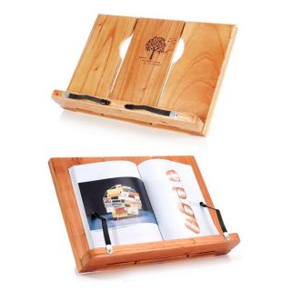 Wood Portable Reading desk Book Stand Writing board Bookstand Holder