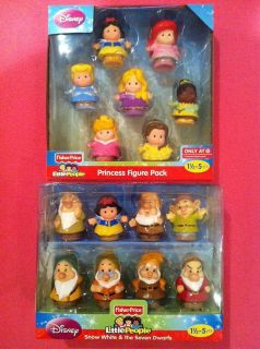 Fisher Price Little People Disney Princess Figure 7 Pack Snow White