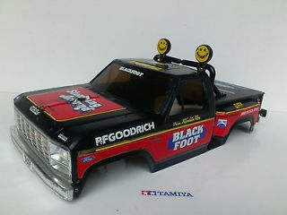 Tamiya Blackfoot Vintage Original Body shell Ford F150 Ranger