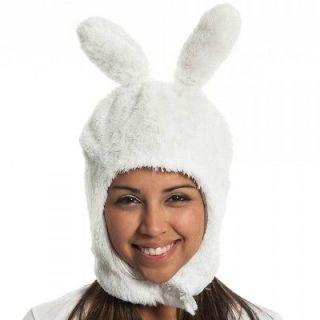 Adventure Time Fiona White Mascot Knit Super Soft Beanie Hat, Licensed