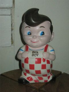 vtg BOBs BIG BOY collectable COIN money BANK 8 Original NIAGRA