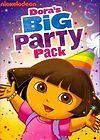 DORA THE EXPLORER DORAS BIG PARTY PACK [DVD BOXSET]   NEW DVD BOXSET