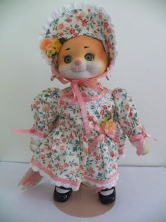 Mint Dolly Dingle Doll Bette Ball Cat Pussykins Figure Goebel Limited