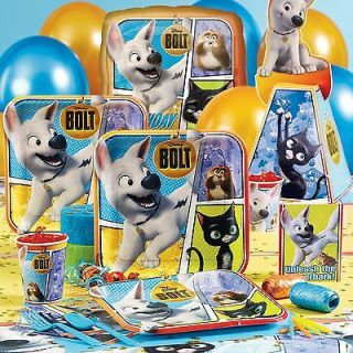Disney BOLT Birthday Party Supplies ~ MANY CHOICES ~ You Can Choose