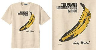 RETRO THE VELVET UNDERGROUND ROCK BAND ANDY WARHOL vtg T Shirt Tee