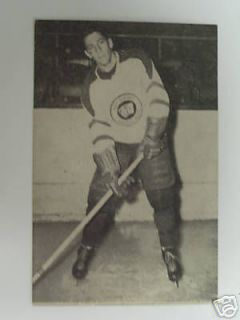DENNIS SMITH card #42 1952 53 ST. LAWRENCE hockey