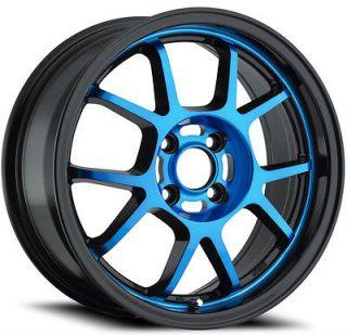 16x7 Konig Foil Blue Wheel/Rim(s) 5x114.3 5 114.3 5x4.5 16 7