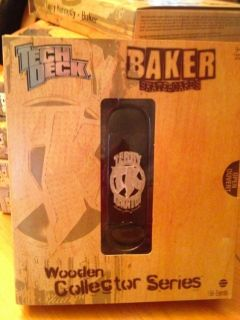 Terry Kennedy   BAKER #19 TECH DECK WOODEN COLLECTOR SERIES Skate