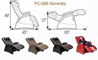 Refurbished PC 086 ELECTRIC MASSAGE ZERO ANTI GRAVITY PERFECT CHAIR