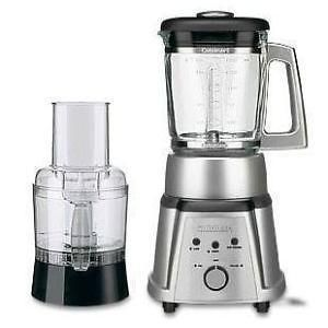 CB 600 Die Cast Metal/Glass Blender&Food Processor Stainless Steel
