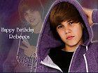 Justin Bieber Edible Cake Topper Birthday Baby Pop Star