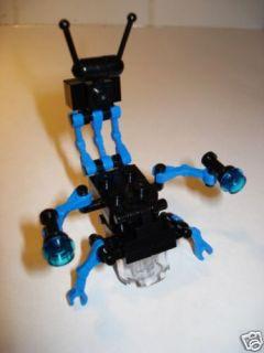 LEGO Custom BLACK & BLUE Star Wars DESTROYER DROID New