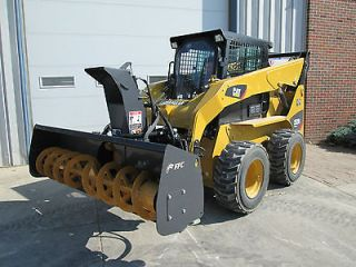 FFC 72 Skid Steer Loader Snow Blower Attachment   1 Yr Warranty