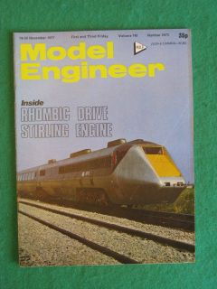 MODEL ENGINEER   RHOMBIC DRIVE STIRLING ENGINE   18 Nov 1977 vol 143
