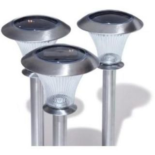 Newly listed NEW SEALED STRATHWOOD 6pc SOLAR LIGHTS STAINLESS $89.99