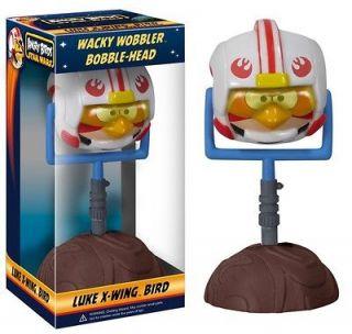 Birds Star Wars LUKE X WING Funko Wacky Wobbler Bobblehead Bobble