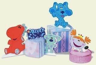 Clues BLUES ROOM ~CENTERPIECE~ Blues Clues Birthday Party Supplies