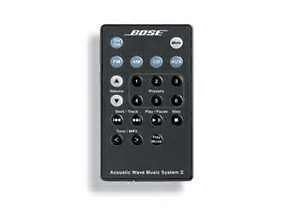 NEW* BOSE ACOUSTIC WAVE MUSIC SYSTEM II REMOTE   GRAPHITE
