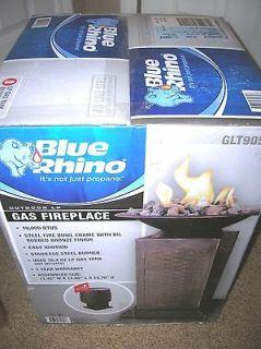 BLUE RHINO GLT905M OUTDOOR GAS FIREPLACE PORTABLE HEATER 10,000 BTU