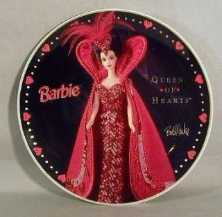 Penney Enesco Bob Mackie Barbie Queen of Hearts Collector Plate