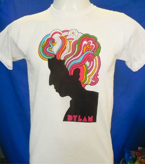 Newly listed Bob Dylan White Tee T Shirt Top Vintage style M