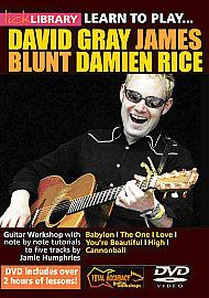 Learn To Play David Gray, James Blunt And Damien Rice (DVD)