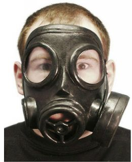 GAS MASK WORLD WAR 1 2 BLITZ EVACUEE RUBBER FANCY DRESS COSTUME WW1 2