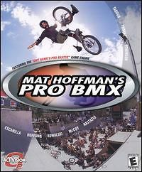 Mat Hoffmans Pro BMX PC CD ride bike tricks half pipe competition