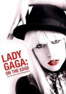 LADY GAGA ON THE EDGE Unauthorized Biography New DVD