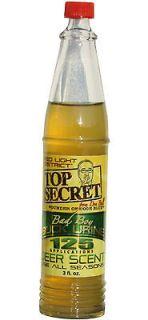 Top Secret Bad Boy Buck Urine 3oz Deer Scent #00260