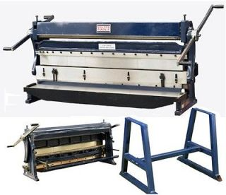 Bolton Tools 52 3 in 1 Sheet Metal Machine Shear, Brake, and Roll