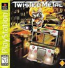 Twisted Metal BLACK LABEL VERSION complete for the Sony Playstation