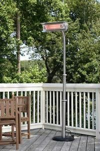 FIRE SENSE ELECTRIC INFRARED OUTDOOR PATIO HEATER BRAND NEW PLUG