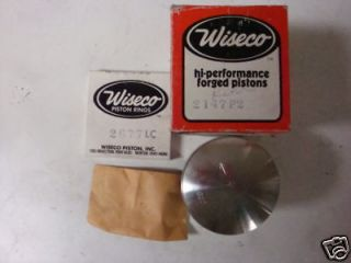SKI DOO ROTAX 440 SNOWMOBILE PISTON KIT WISECO 2147P2 NOS RINGS PISTON