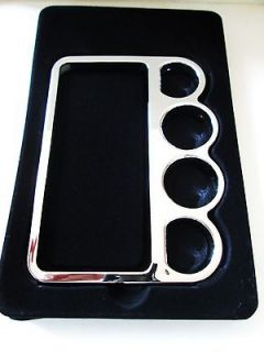 Brass Knuckle Case for iPhone 5 Blue Color *USA Seller*