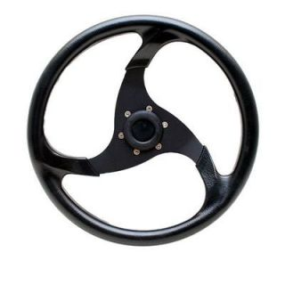 PRINCECRAFT 14 INCH BOAT STEERING WHEEL w/ HUB
