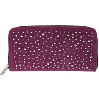 Kirks Folly Starry Night Zip Around Wallet (Purple)