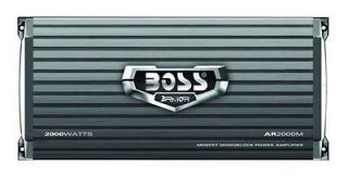 Boss Audio BX25 2 way Electronic Crossover w/ Remote Subwoofer Level