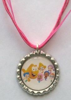 Boutique Bottlecap Necklace Bubble Guppies Deema Oona Molly Grouper