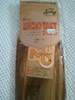 Zury 100 Human Hair Braiding Ultra Yaky Perm 93