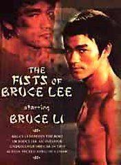 THE FISTS OF BRUCE LEE, Starring Bruce Li DVD Video HARD CASE